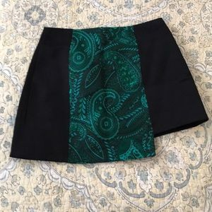 TopShop boutique asymmetrical skirt size 4